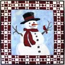 Snowman Picture Piecing